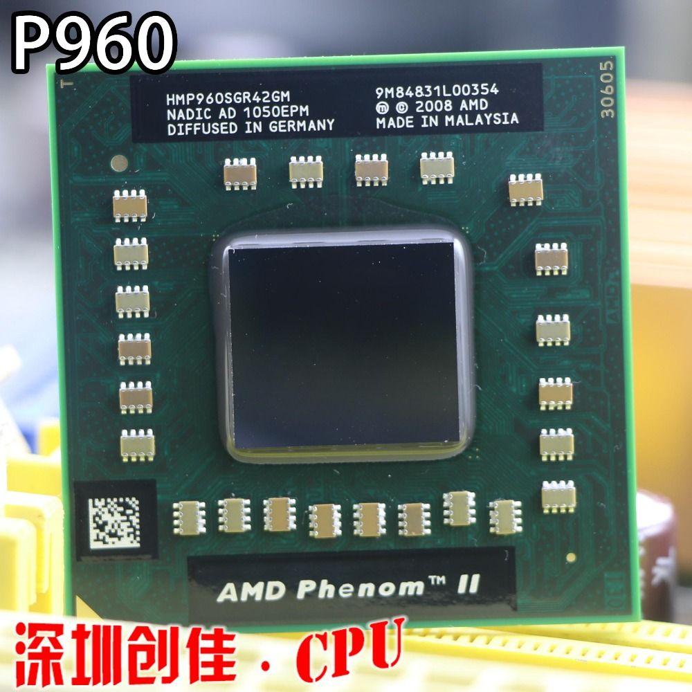 Brand original AMD Quad core P960 HMP960SGR42GM CPU 1.8G clocked 2M cache