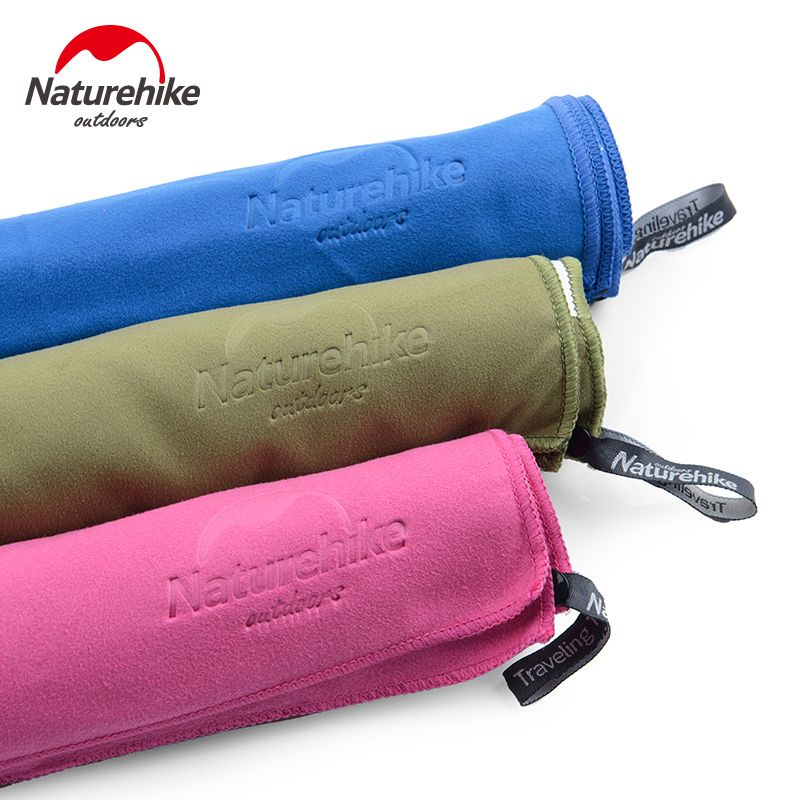 NatureHike Brand New Travel Towels Microfiber Anti-Bacterial Quick Drying Bag Face Towel For Travel Camping Outdoor Sports