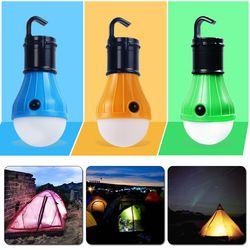 Водонепроницаемый портативный фонарь тент лампа светодиодный аварийный ночник Кемпинг походный фонарь походный на открытом воздухе AAA бат...