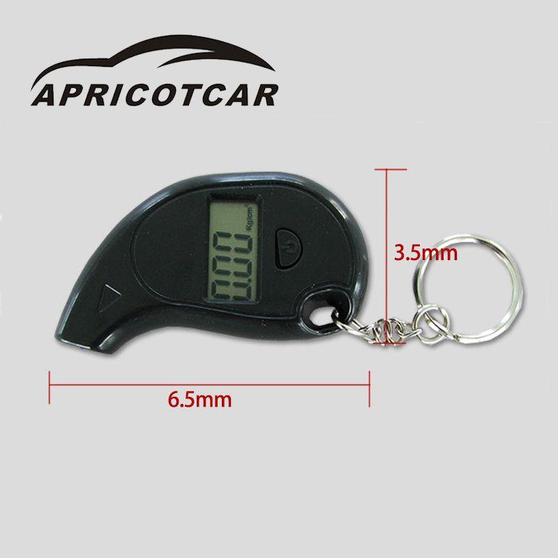 Car Digital Tire Pressure Meter Multi-purpose Car Digital Tire Pressure Gauge To Carry Easy To Operate Simple Accurate Reading
