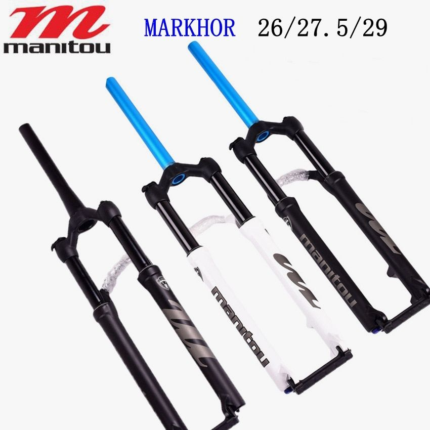 Manitou MARKHOR Bike Fork 26 27.5 29er mountain MTB Bicycle Forks air marvel Pro suspension latest PK to SR SUNTOUR 2018