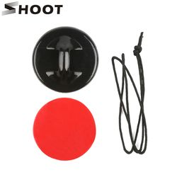 SHOOT Helmet Surfboard Safety Tethers Adhesive Pads Mount for Gopro Hero 6 5 4 SJCAM Xiaomi Yi 4K h9 Go Pro Surfing Accessories