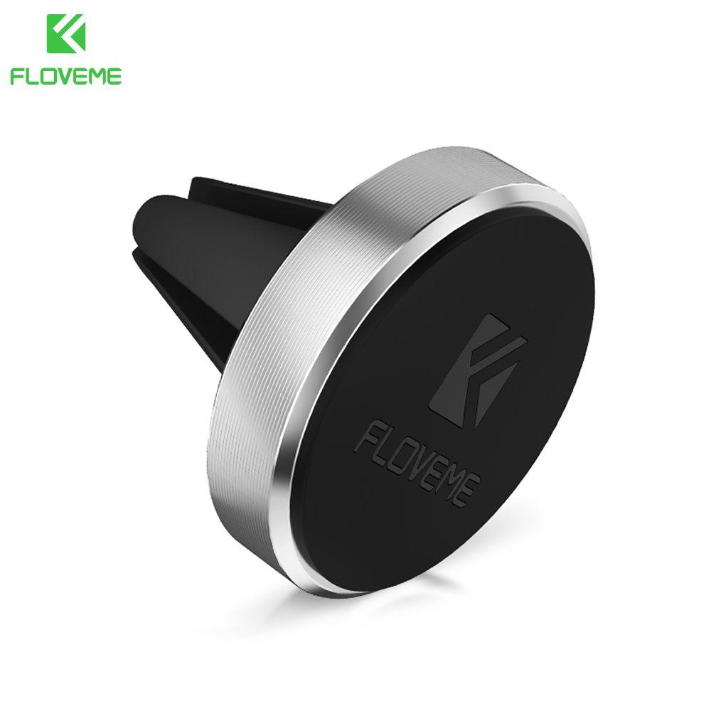 FLOVEME Universal Kfz-halter Magnetische Air Vent Halterung Ständer 360 Rotation Handyhalter für iPhone 7 5 s 6 Plus Samsung