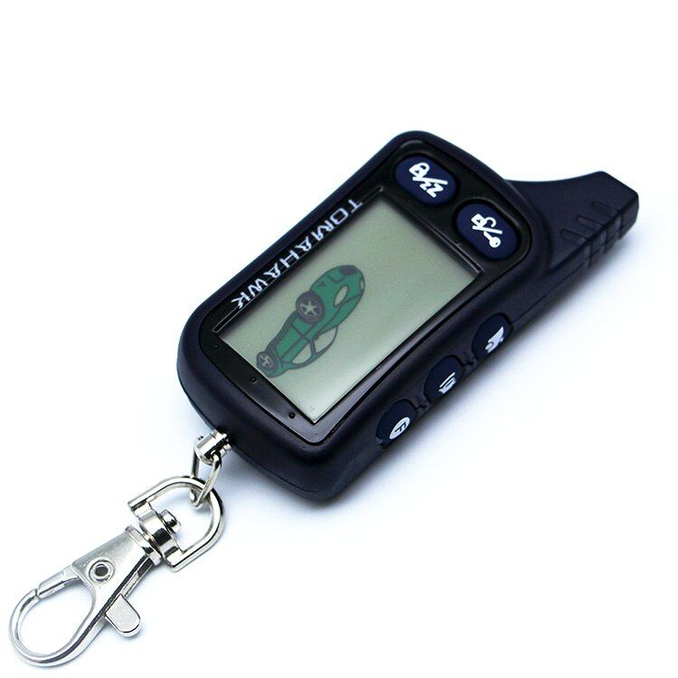 Free Shipping Tomahawk LCD remote controller for Tomahawk TZ9030 two way car alarm system