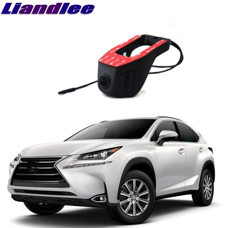 Liandlee For Lexus NX AZ10 2014~2017 Car Black Box WiFi DVR Dash Camera Driving Video Recorder