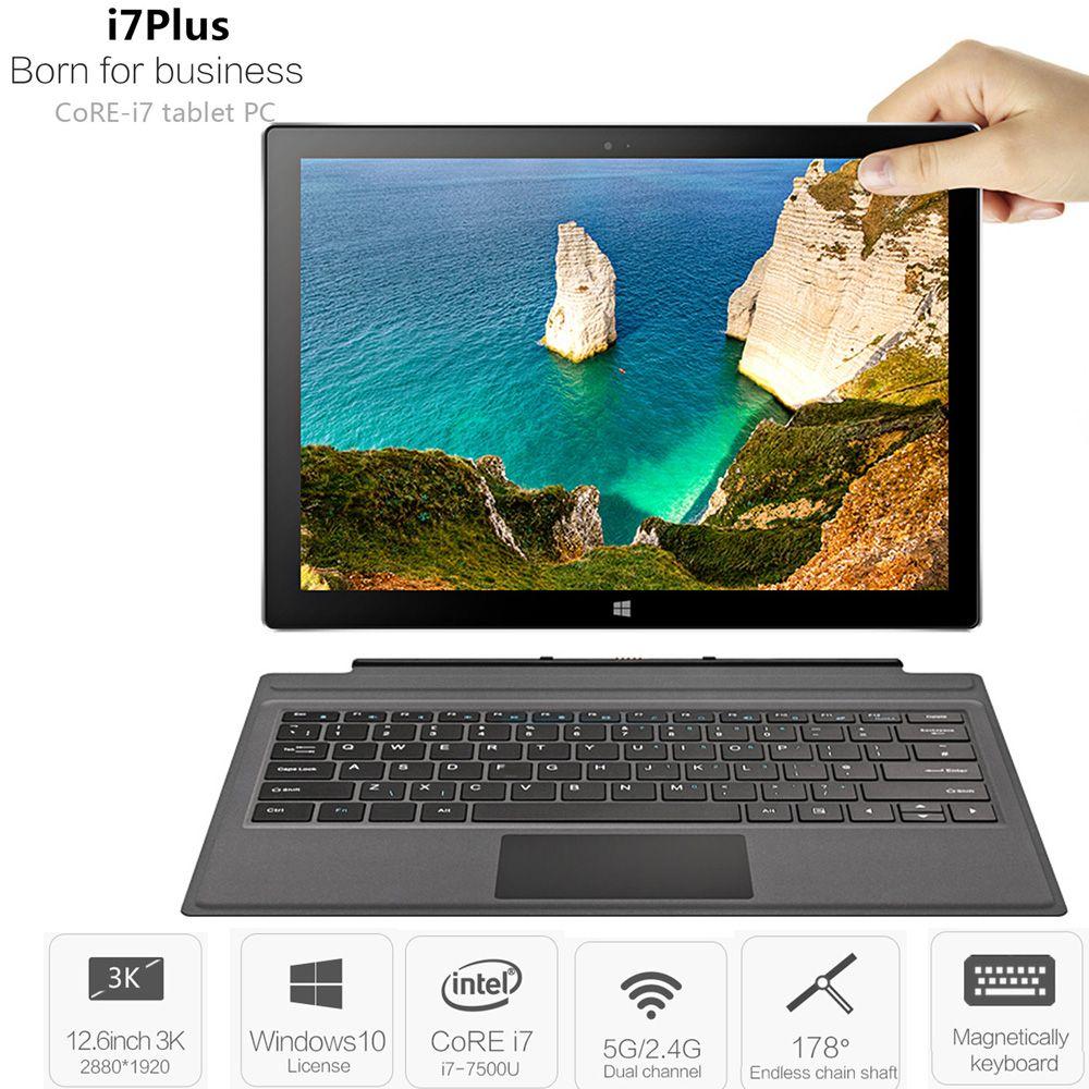 VOYO VBOOK I7 Plus 2 In 1 Tablet PC 8 gb + 256 gb 12,6 ''Windows 10 Intel Core I7-7500U 2,7 ghz Dual WiFi 5MP Tabletten PC Typ-C HDMI