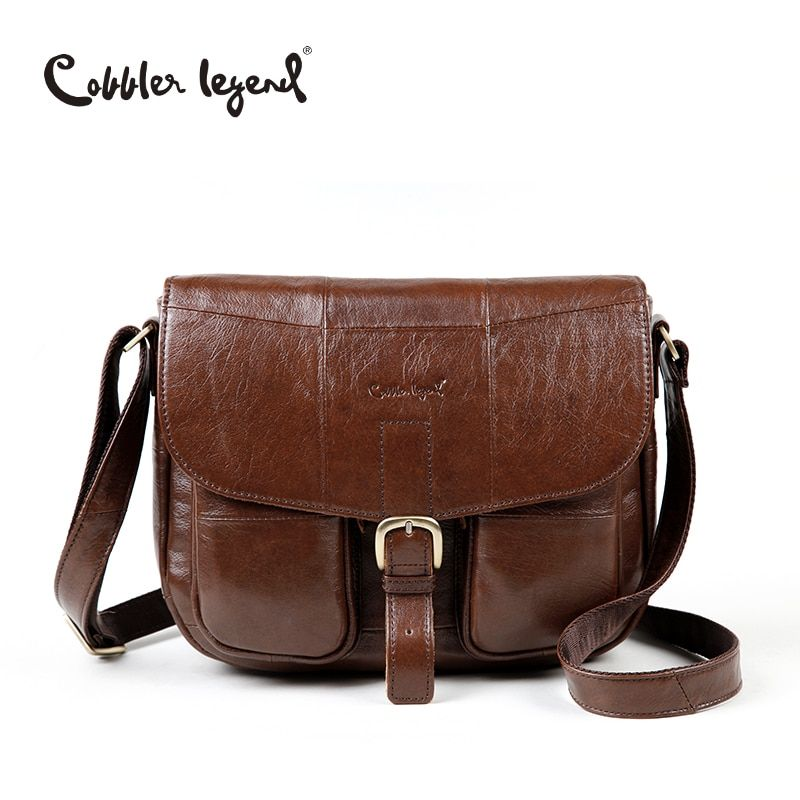 Cobbler Legend Brand Genuine Leather 2018 Women Shoulder Bag Casual Style Crossbody Bag For Ladies <font><b>Handbags</b></font> For Female 0700101-1