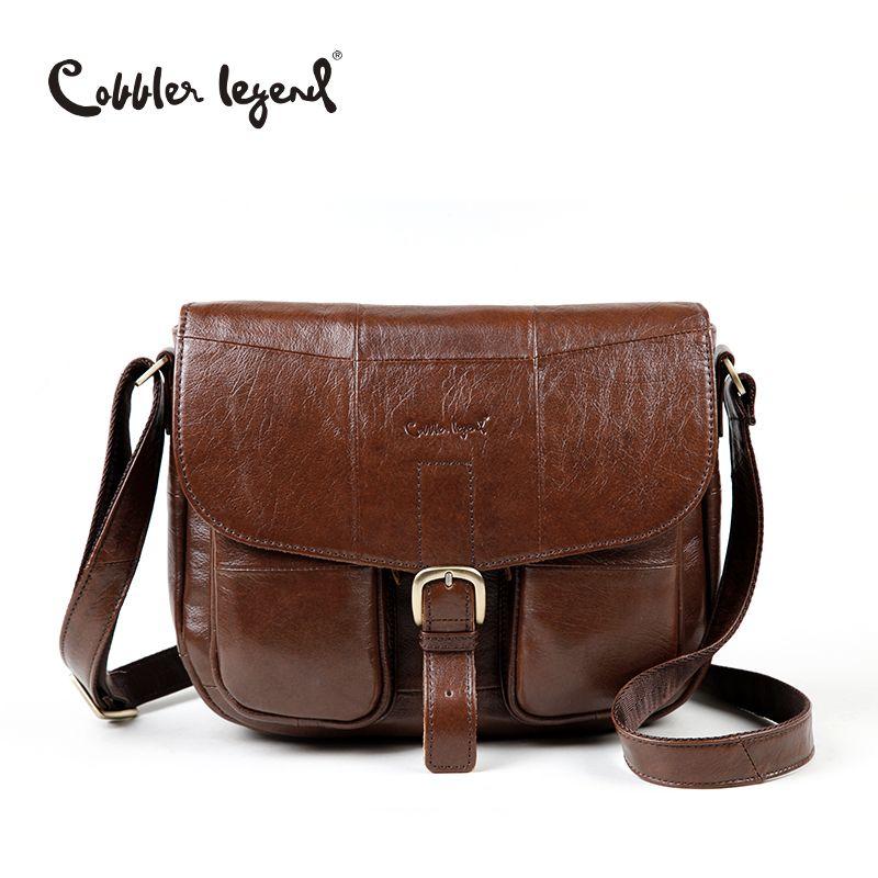 Cobbler Legend Brand Genuine Leather 2018 Women Shoulder Bag Casual Style <font><b>Crossbody</b></font> Bag For Ladies Handbags For Female 0700101-1