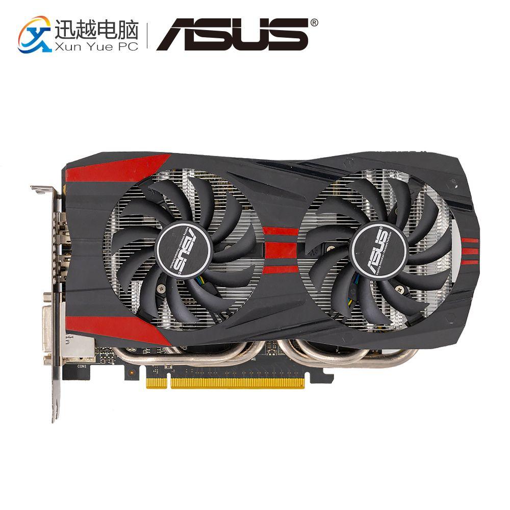 ASUS GTX760-DC2OC-2GD5 Original Graphics Cards 256 Bit GTX 760 2G GDDR5 Video Card HDMI 2*DVI DP 1006MHz~1072MHz GTX760