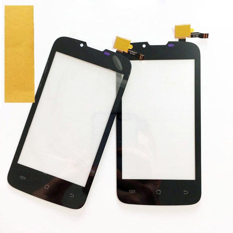 New Front Glass Panel Lens For Fly IQ4407 IQ 4407 ERA Nano 7 Touch Panel Sensor HD Touchscreen Digitizer