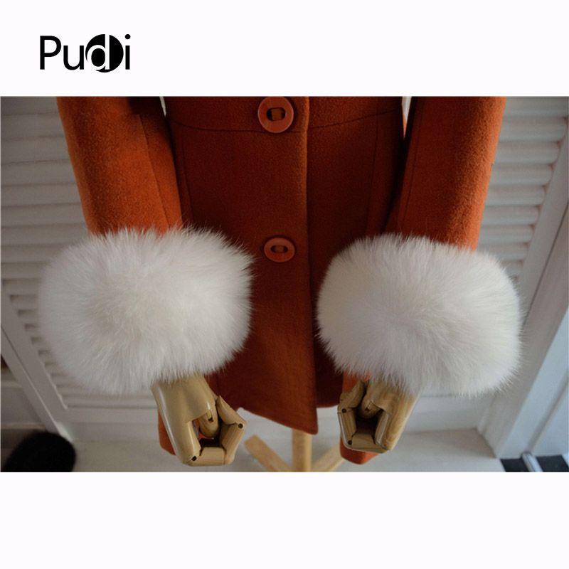 Real Genuine high quality  fox  fur cuffs cuff  arm warmers 3 colors