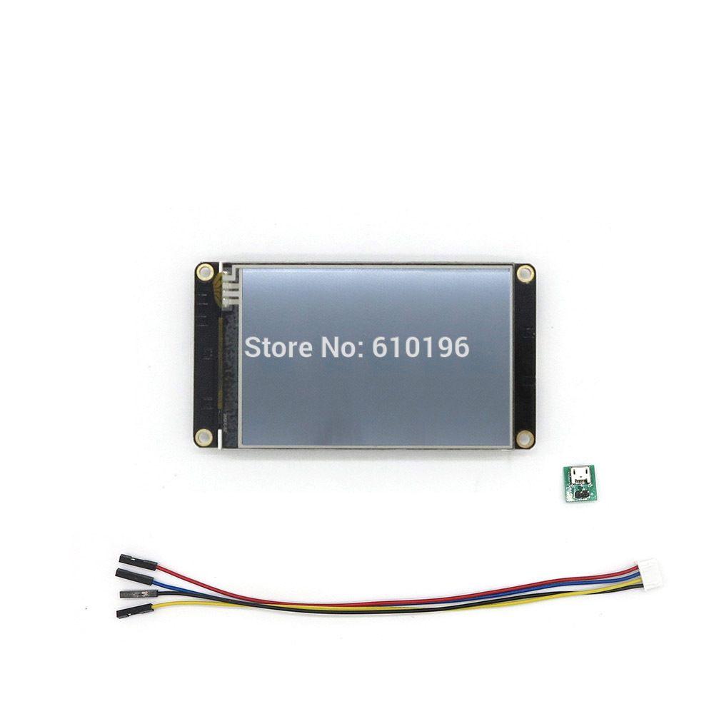 Nextion amélioré 3.5 ''HMI I Intelligent USART UART série tactile TFT LCD Module panneau d'affichage pour Arduino Raspberry Pi Kit
