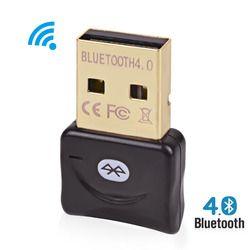 Adaptador inalámbrico Bluetooth V 4,0 modo Dual Dongle USB Bluetooth Mini Adaptador Bluetooth ordenador receptor transmisor Adaptador