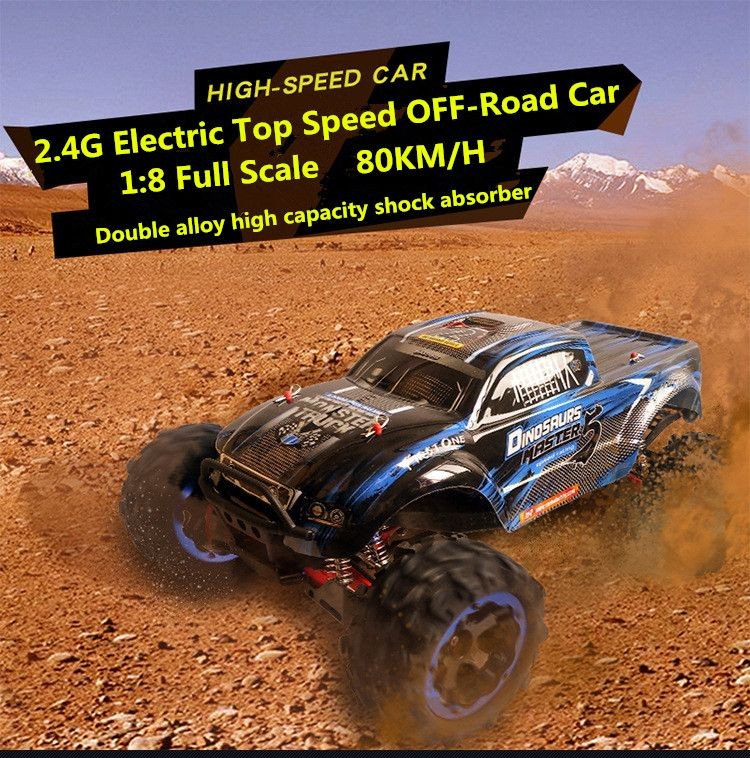Ultimate Edition 1/8 scale 56cm model cars rc car 80KM/H 4WD brushless top speed waterproof off road remote control toy car
