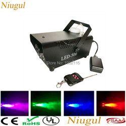 Wireless Remote control LED 500W smoke machine/RGB color fog machine/professional smoke ejector/stage DJ equipments/LED fogger