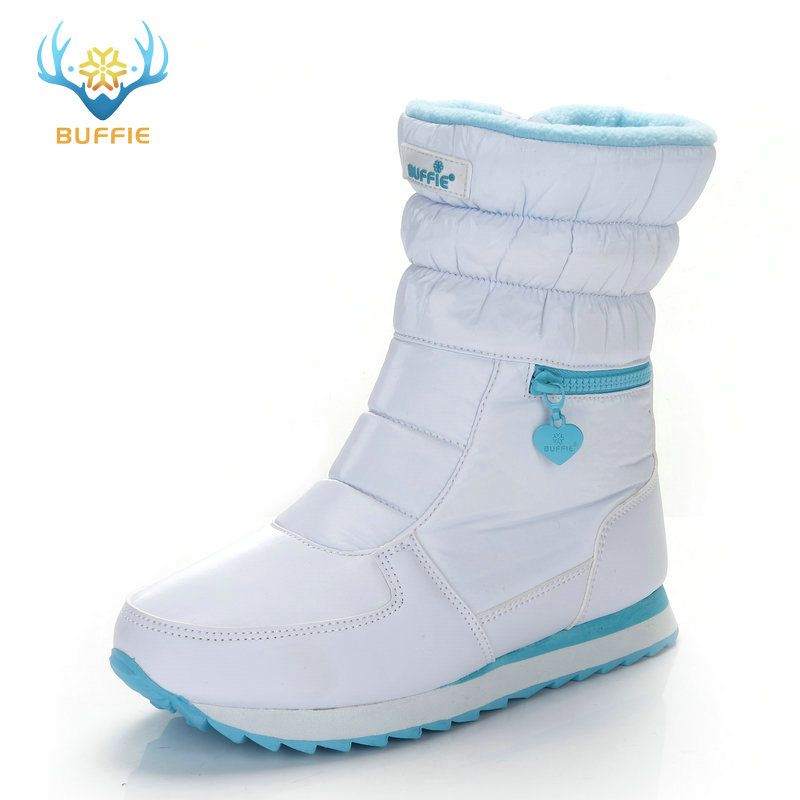 <font><b>white</b></font> winter boots women fashion snow boots new style 2018 women's shoes Brand shoes high quality fast free shipping girlw boots