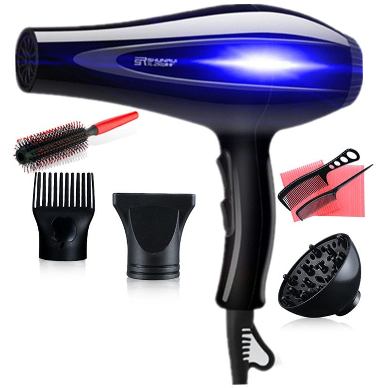3200W High Power Hair Dryers 100% Brand New And High Quality Humanized Design 5 Heat/Speed Settings Hair Blow Dryers