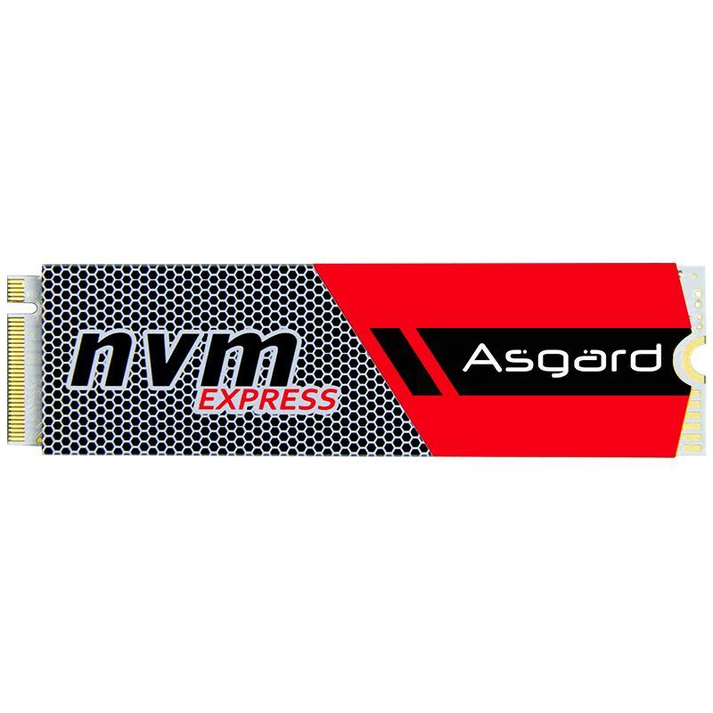 Top vente Asgard 3D NAND 256 gb 512 gb 1 tb M.2 NVMe pcie SSD Interne Disque Dur pour Ordinateur Portable de bureau haute performance