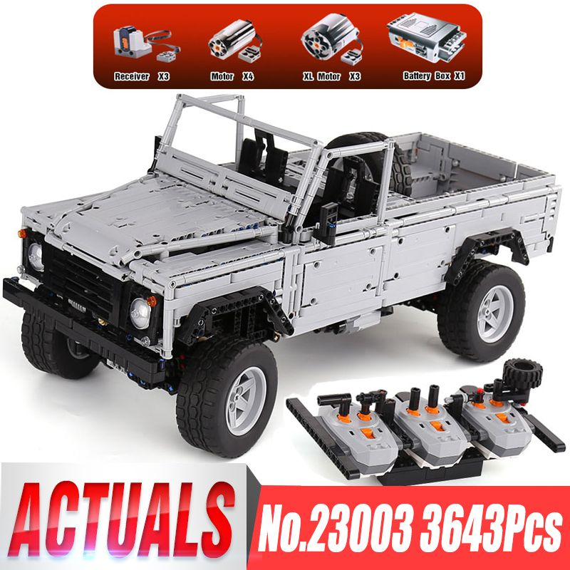 In Stocks Lepin 23003 Technic Series 3643Pcs MOC RC Wild off-road vehicles LegoINGl model Building Blocks Bricks toys boys gifts