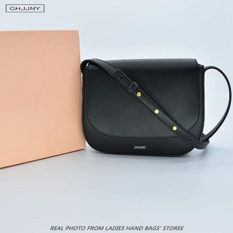 Mansur Gavriel brand leather mini small crossbody handbag for women fashion saddle for girl messenger bag frauen famous designer