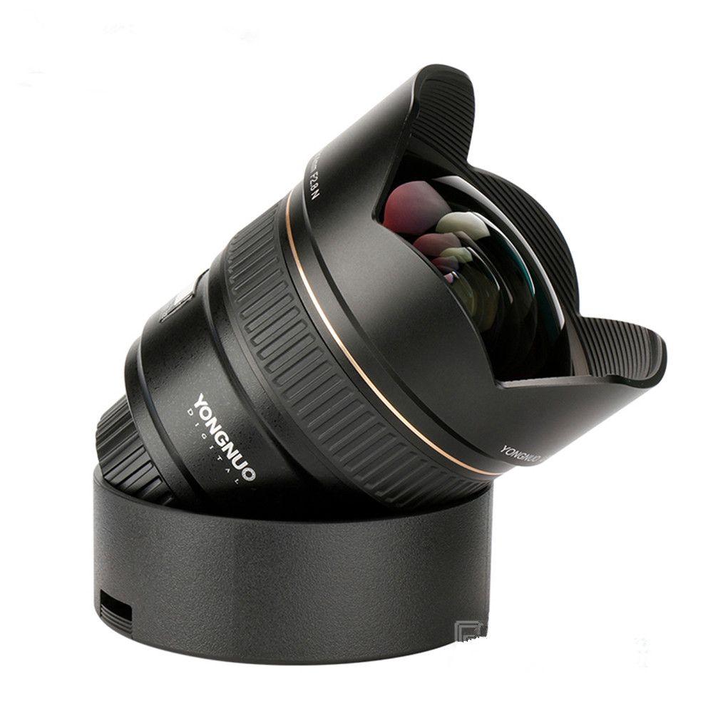 YONGNUO Ultra-wide Angle Prime Lens YN14mm F2.8N Auto Focus Metal Mount for Nikon D850 D750 D810a D800E D500 D610 D5 D4S D3