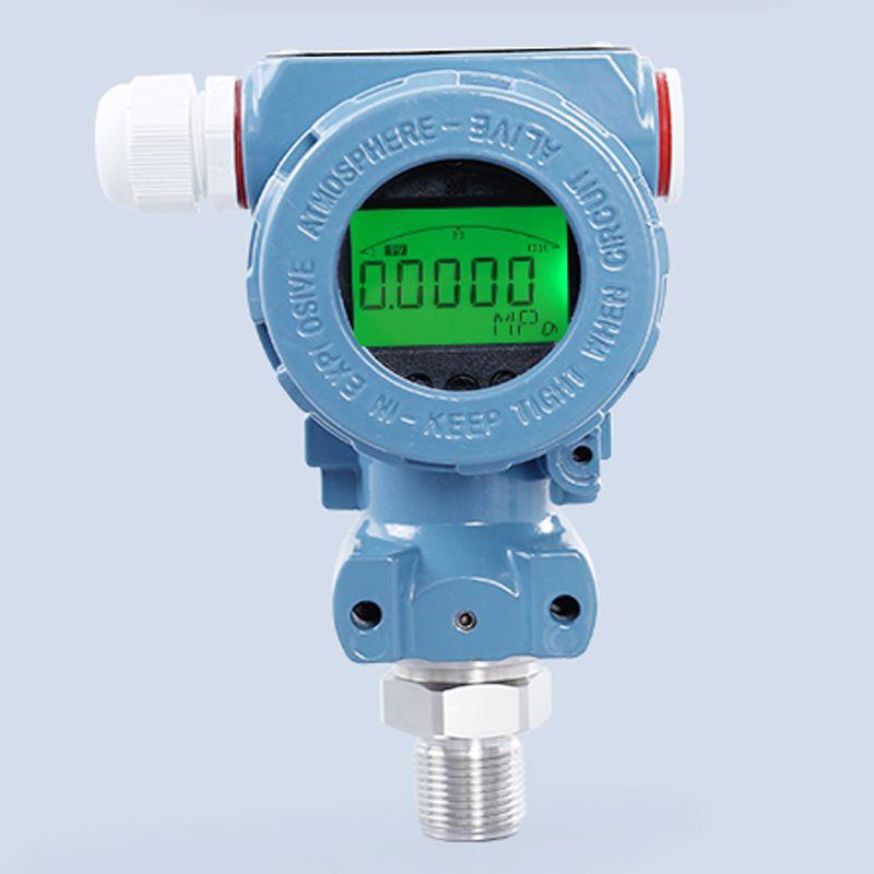LCD Digital pressure transmitter 4-20mA Diffused Silicon Pressure Transmitter -0.1-0-100mpa stainless steel Pressure Sensor