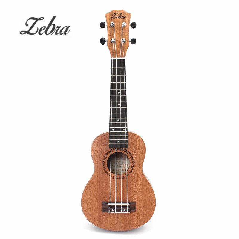 21 pouce 15 Frettes Acajou Soprano Uke Ukulélé Électrique Basse Guitare Sapele Rosewood 4 Cordes Guitare Hawaïenne pour Amant Débutant