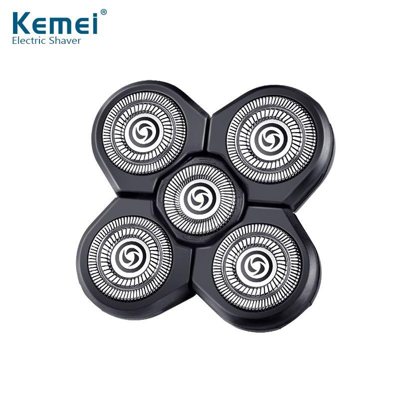 Kemei waterproof electric shaver head of kemei5886 waterproof spare The razor head 5D Shaving hair trimmer for man face care