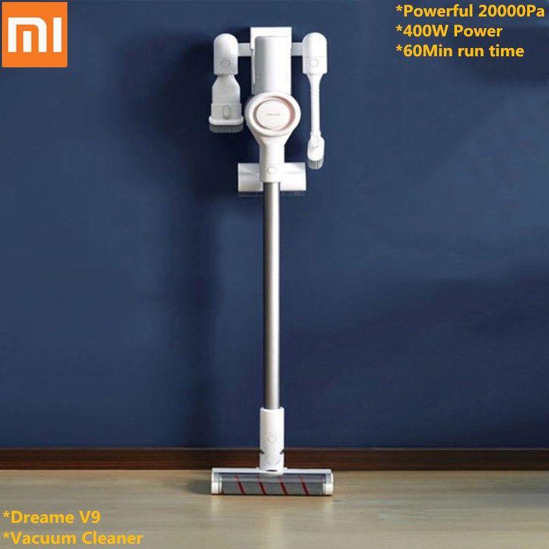 Xiaomi Youpin Dreame V9 Staubsauger Handheld Cordless Stick Sauger Reiniger 20000 Pa 400 w für Home Office Auto innen verwenden