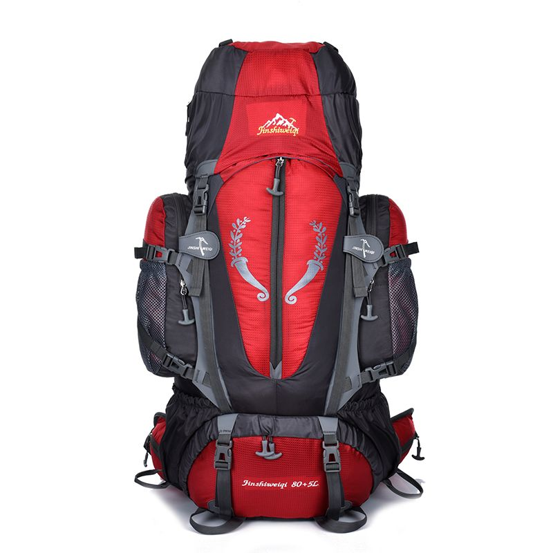 85L Outdoor bag Camping Hiking Backpack Large Nylon Frame Bag Waterproof Men Sport Bags Climbing Travel Big Capacity Rucksacks