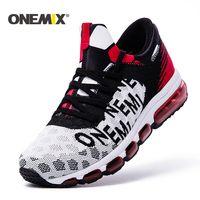 ONEMIX для мужчин s кроссовки осень или зима уличная спортивная обувь кроссовки Мужская Спортивная обувь zapatos de hombre мужские беговые кроссовки