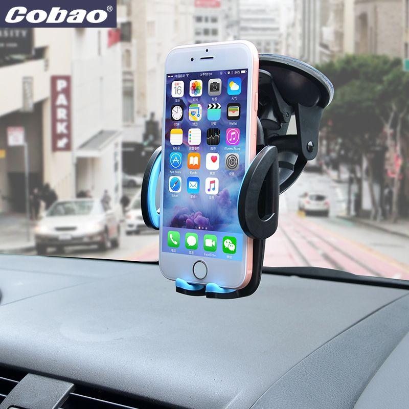 Support pour voiture universel Support pour téléphone portable pour Iphone 6 6 s plus SE Support pour Samsung Support pour téléphone Mobile Flexible pour Sony