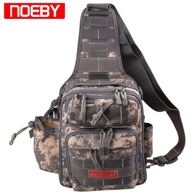 NOEBY Fishing Bag 28*21*9.5cm Multifunctional Outdoor Fishing Tackle Bagpack Waterproof Waist Bag Bolsa Pesca Carp Fishing Bag