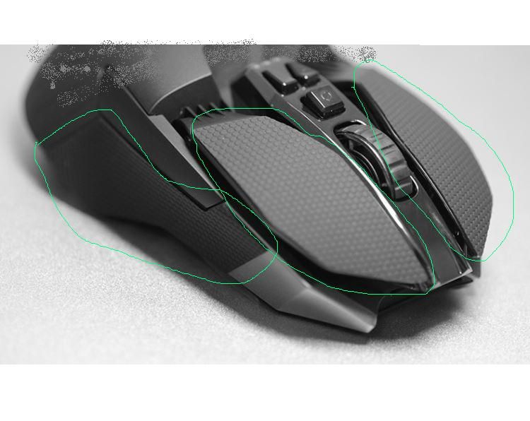 Mouse Elastics Refined Side Grips Sweat resistant pads for Gaming Mouse Logitech G900