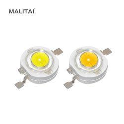 10 шт. настоящий полный Вт CREE 1 Вт 3 Вт Высокая мощность светодио дный лампы Диоды SMD 110-120LM светодио дный LED s чип Вт для 3 Вт-18 Вт точечный светиль...