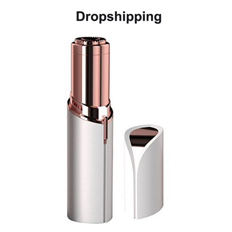 TV Hot Selling Finishing Touch Flawless Epilator, Electric Lipstick hair remover portable Lipstick Epilator for women beauty