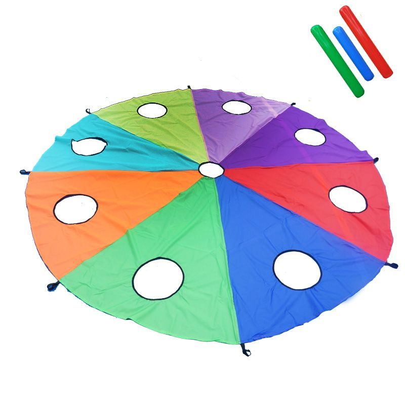 Parachute For Kids With Free Air Rod Whac A Mole 3M/4M/5M Diameter For Available