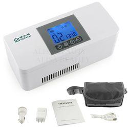 2018 Portable de stockage de L'insuline Refroidisseur Sac Insuline Diabétique Glacière Rechargeable réfrigérateur Mini réfrigérateur glace boîte voyage sac