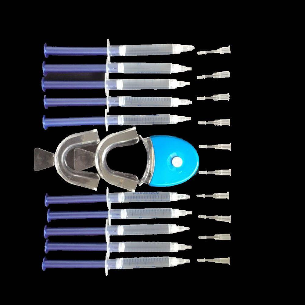 Professional Teeth Whitening 44% Peroxide Dental Bleaching System Oral Gel Kit Tooth Whitener Dental Bleaching Set WA822 T30