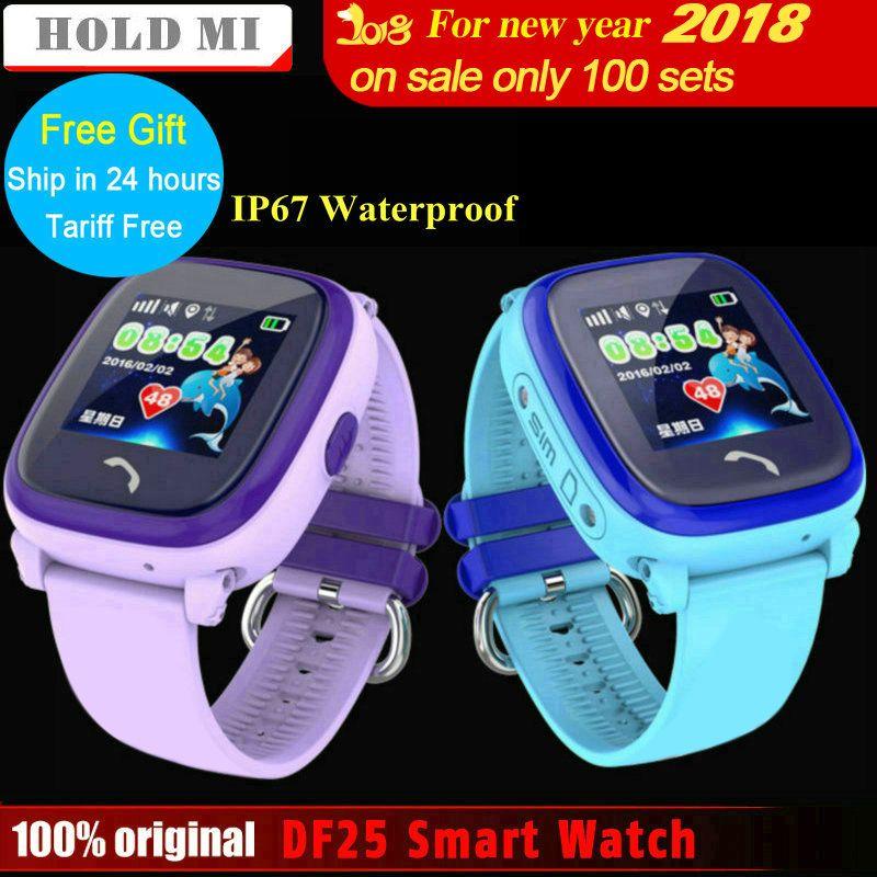 Halten Mi Wasserdichte DF25 Kind Smart Uhr PK Q60 GPS Smart Baby Smartwatch SOS Anruf Location Device Tracker Anti-verloren Monitor