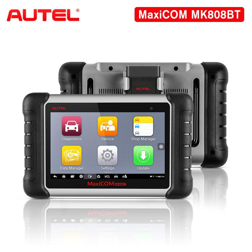 Autel MK808BT OBD2 Scanner Auto Diagnose Werkzeug Schlüssel Programmierer OBD2 Wifi Auto Werkzeug Diagnose Funktionen von EPB/IMMO/ DPF/SAS/TMPS