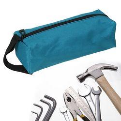 1 шт. ручной инструмент сумка для маленькие винты Стразы для ногтей бит металлические детали сумка для инструментов водонепроницаемый холщ...
