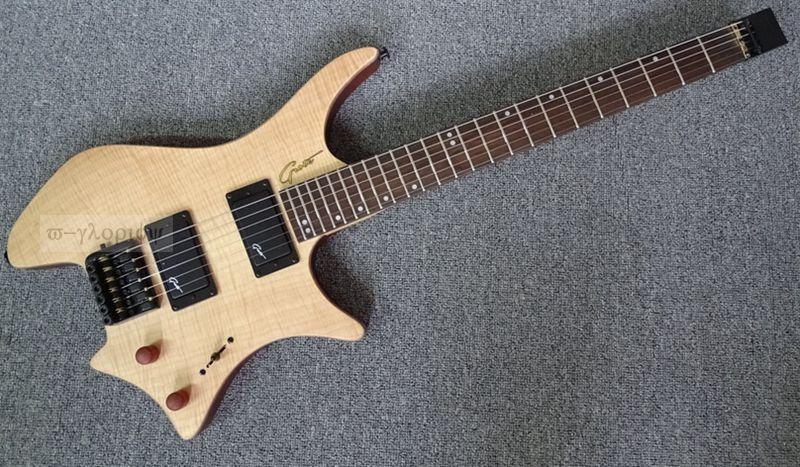 high quality headless electric guitar