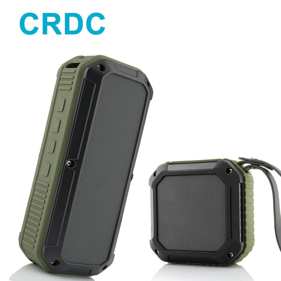 CRDC Bluetooth Speaker 10 Hour Playtime Mini Outdoor Water Resistant Wireless Stereo Speaker CSR <font><b>Chip</b></font> Bass for iPhone Xiaomi LG