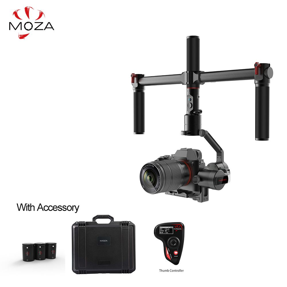 MOZA AirCross 3 Achsen Handheld Gimbal Stabilizer Kameras Multi-Contro Für Spiegellose Kamera bis zu 3.9lb/1800g Parameter