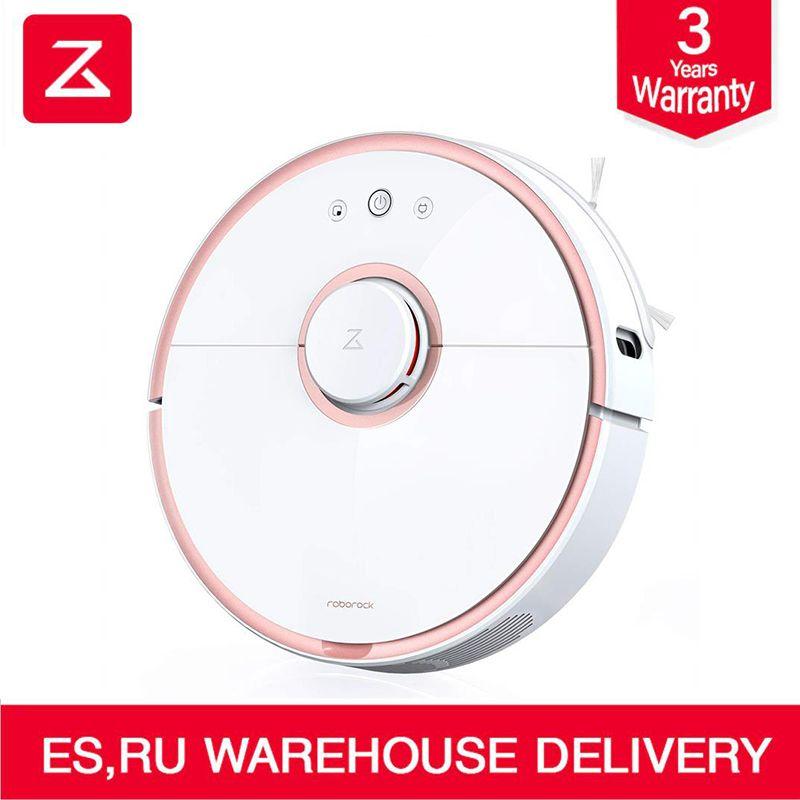 2018 neue Original Roborock S5 Roboter Staubsauger 2 für Home Automatische Kehren Staub Sterilisieren Smart Geplant Waschen Wischen