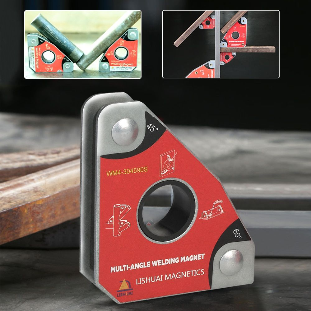 2pcs Multi-angle Mini Neodymium Welding Magnet Magnetic Clamp Holder 30 60 45 90 degrees