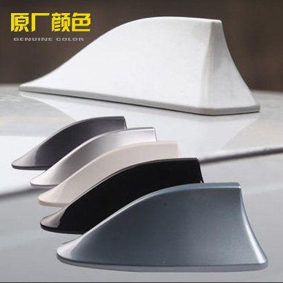 Car Shark fin Radio Signal Antenna Aerials with FM adhesive sticker For Chevrolet Cruze Aveo Sonic 2009 2010 2011 2012 2013 2014