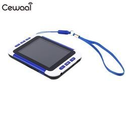 Cewaal High Quality Portable 3.5 Inch LCD Screen Electronic Reading Handheld Digital Magnifiers Low Vision Aids Video Gift
