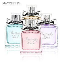 MayCreate Femmes Parfum Frais Élégant De Fleur Durable Parfum Parfum Maquillage Parfum Féminin Femmes Pulvérisation Bouteille En Verre 50 ml